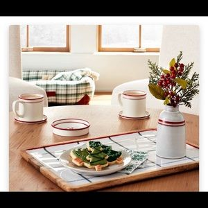 Hearth and Hand Magnolia wood serving tray
